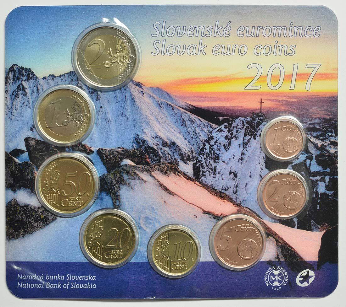 Slowakei 388 Euro Kms Slowakische Euromünzen 2017 Stgl