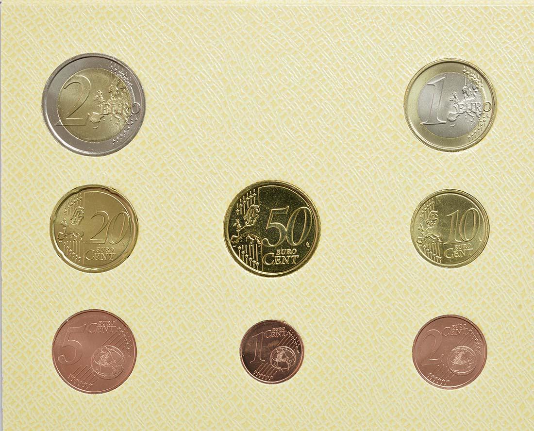 Rückseite:Vatikan : 3,88 Euro Vatikan KMS  2017 Stgl.