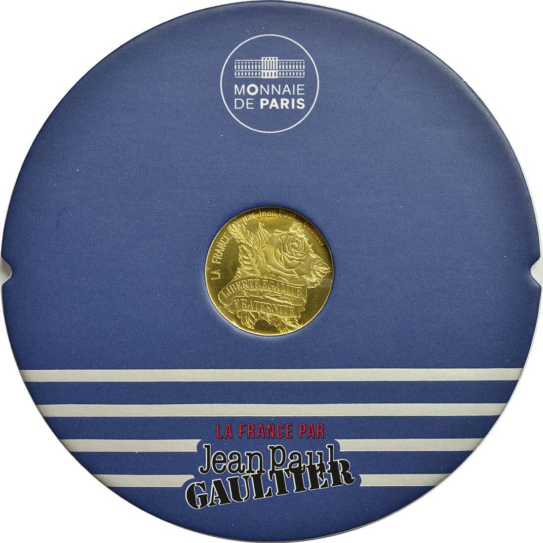 Frankreich : 200 Euro Jean Paul Gaultier  2017 bfr
