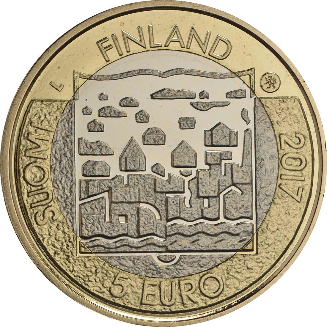 Bild der Rückseite :Finnland - 5 Euro Ryti  2017 PP