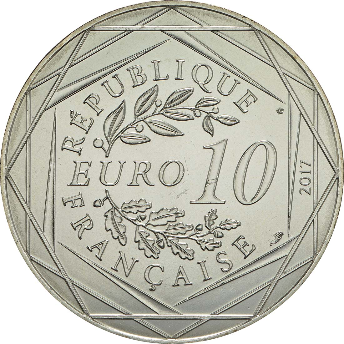 Rückseite:Frankreich : 10 Euro Orléans la victorieuse  2017 bfr