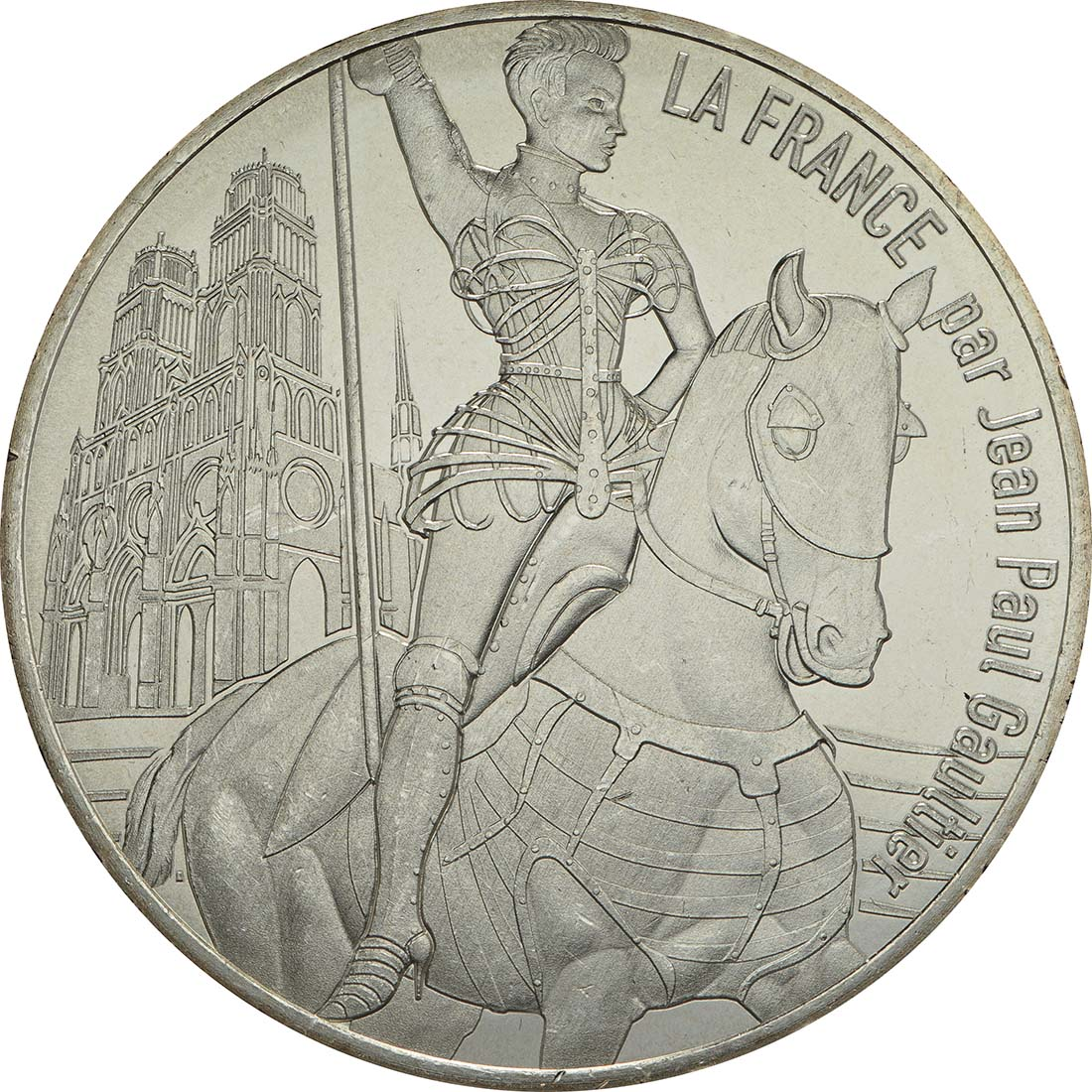Vorderseite:Frankreich : 10 Euro Orléans la victorieuse  2017 bfr
