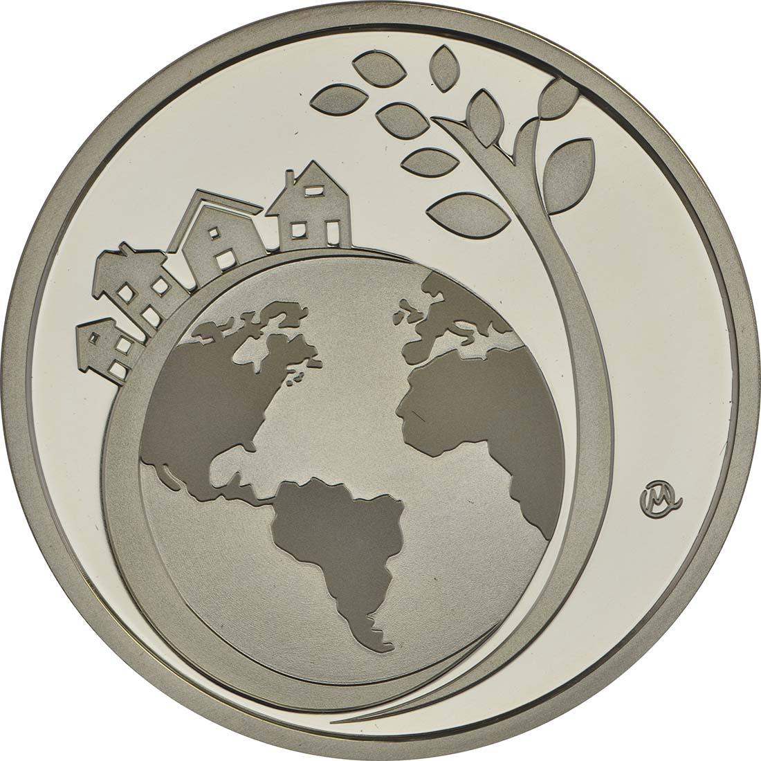 Vorderseite :Griechenland : 6 Euro Internationales Jahr des nachhaltigen Tourismus  2017 PP