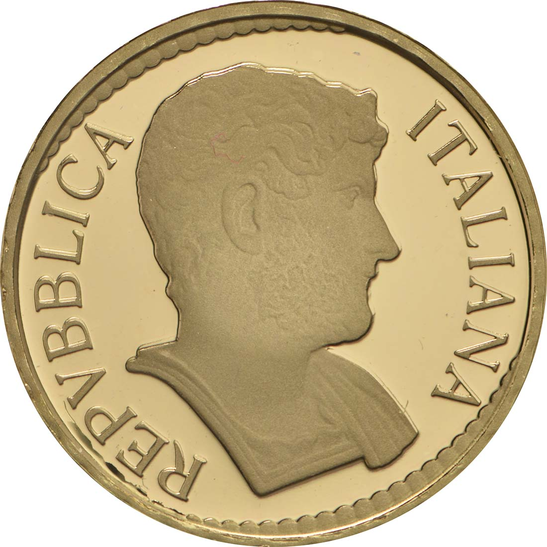 Vorderseite :Italien : 10 Euro Hadrian  2017 PP