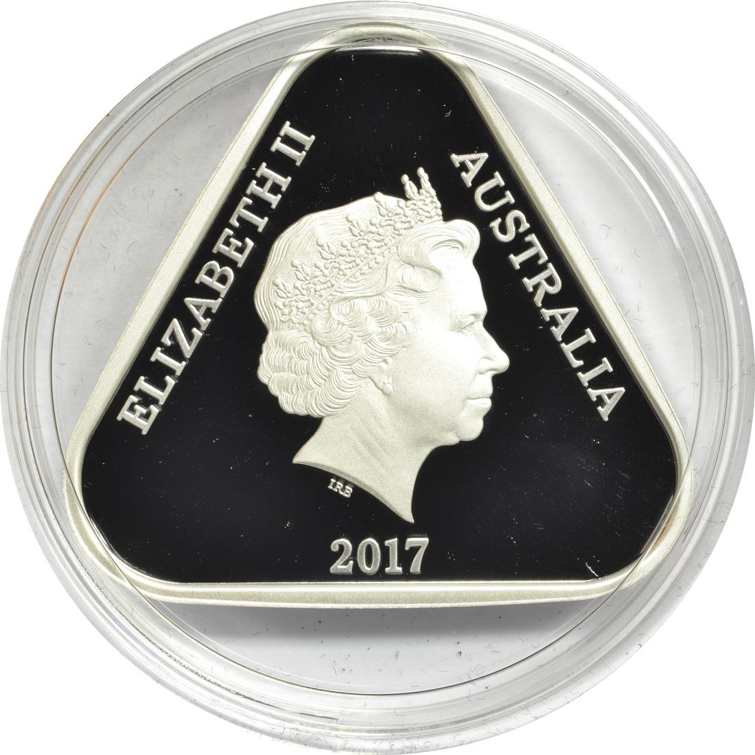 Rückseite :Australien : 5 Dollar Krankenschwestern - Engel an der Front  2017 PP