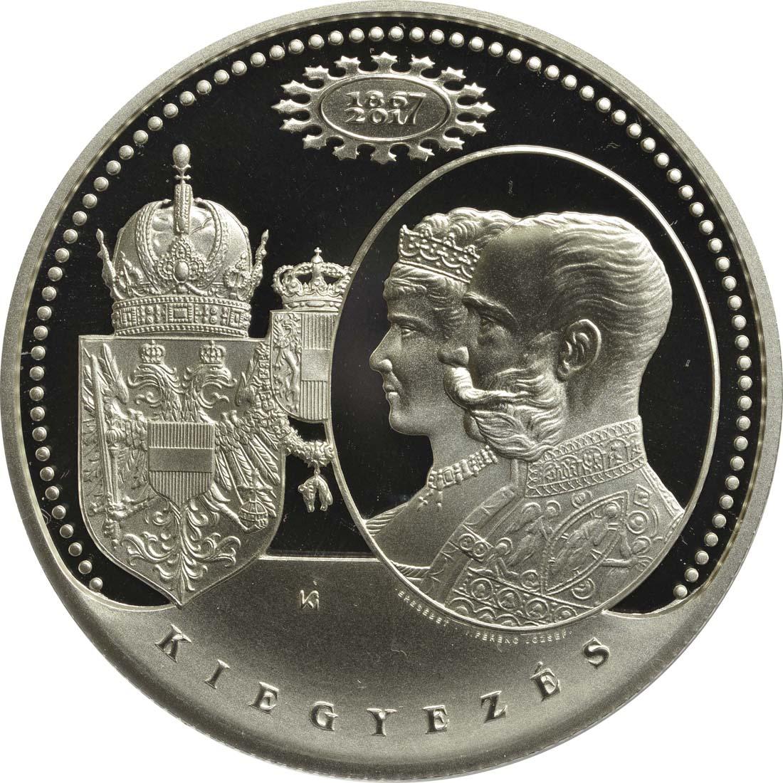 Vorderseite:Ungarn : 20000 Forint 150 Jahre Österr.-Ungarn Ausgleich 1867  2017 PP