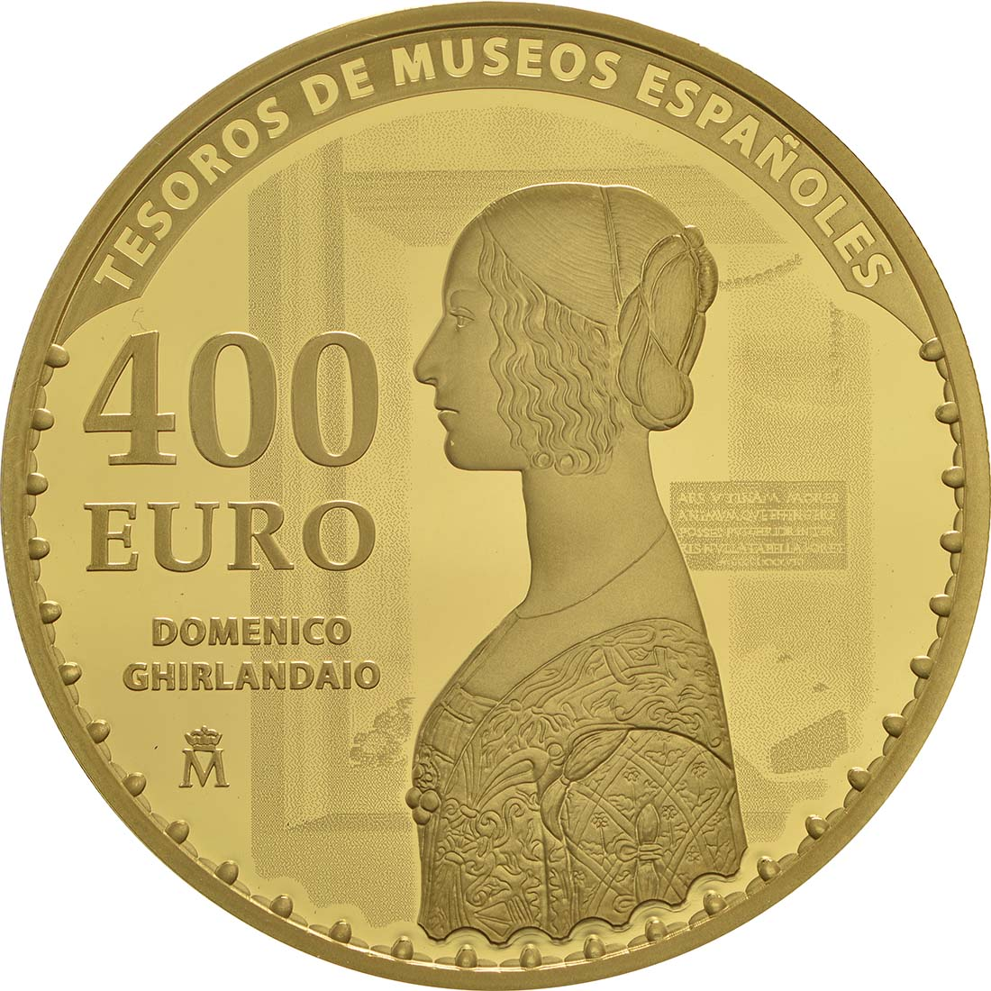 Spanien 400 euro holbein 2017 pp gold for Wohnlandschaft 400 euro