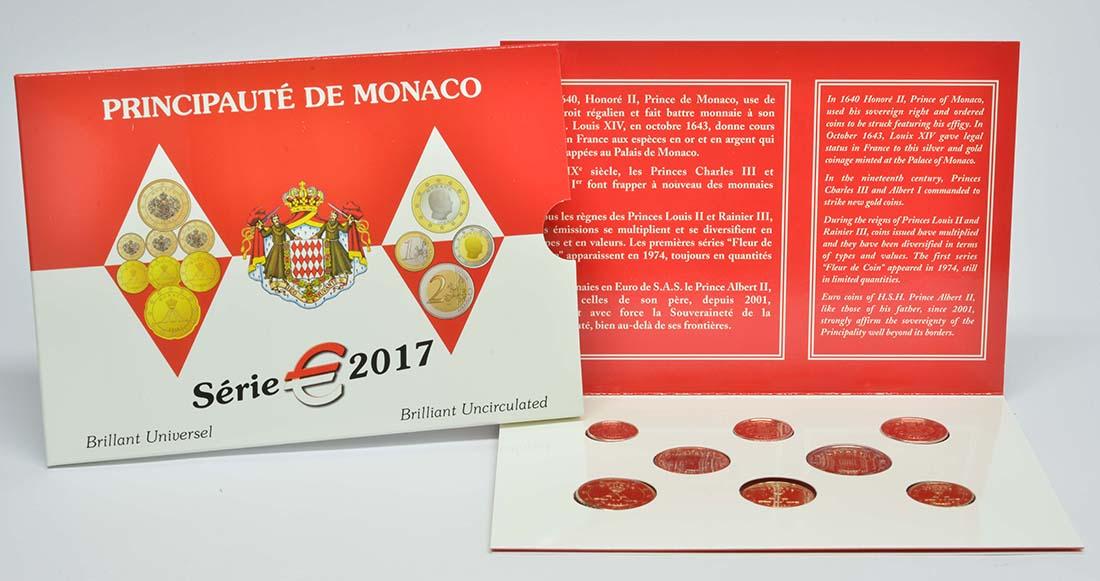 Lieferumfang:Monaco : 3,88 Euro KMS Monaco  2017 Stgl.