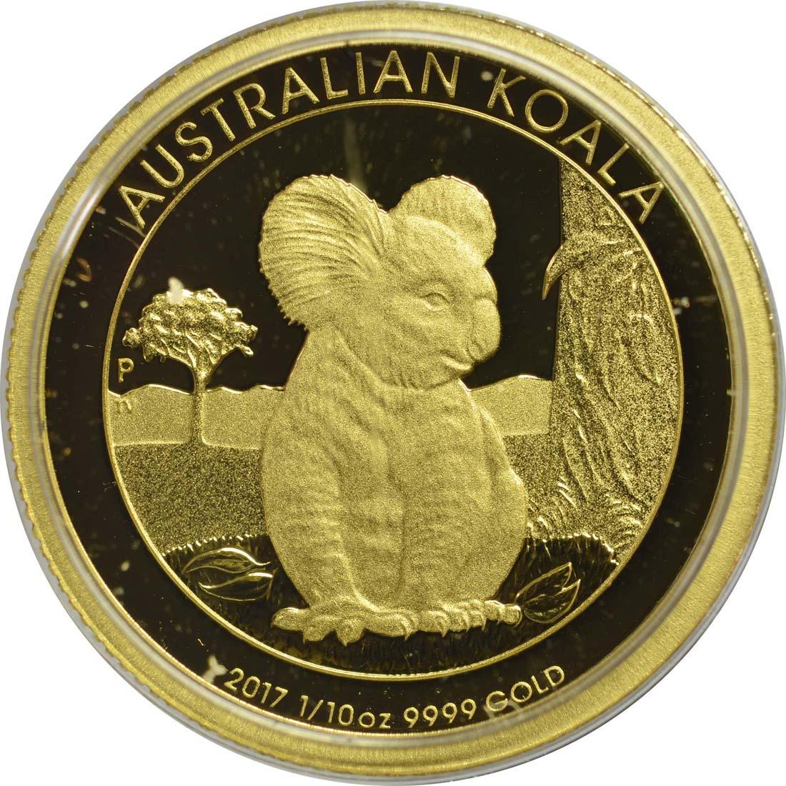 australien 15 dollar koala 2017 gold pp euro. Black Bedroom Furniture Sets. Home Design Ideas