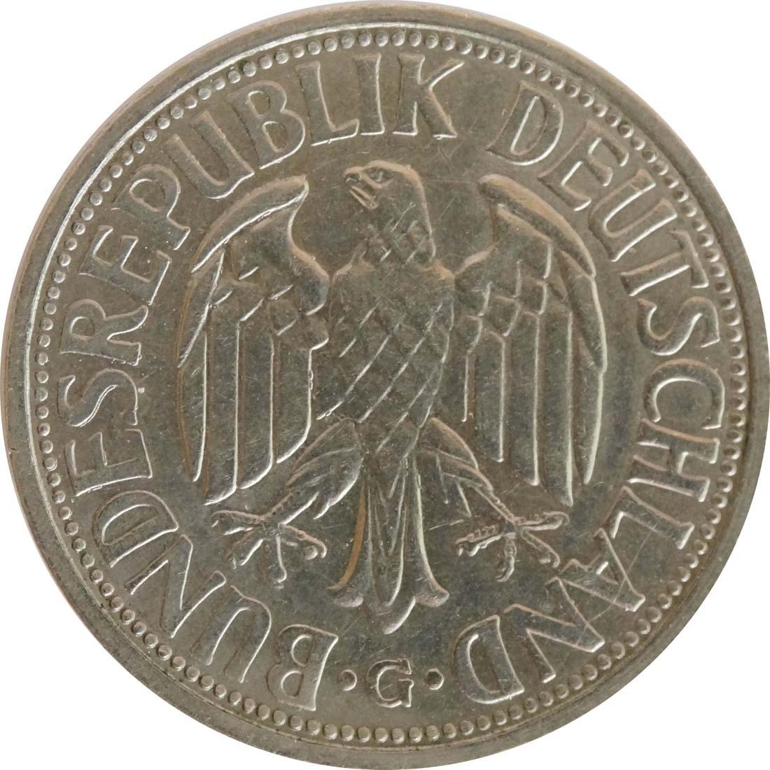 Rückseite:Deutschland : 2 DM Ähren  1951 vz/Stgl.