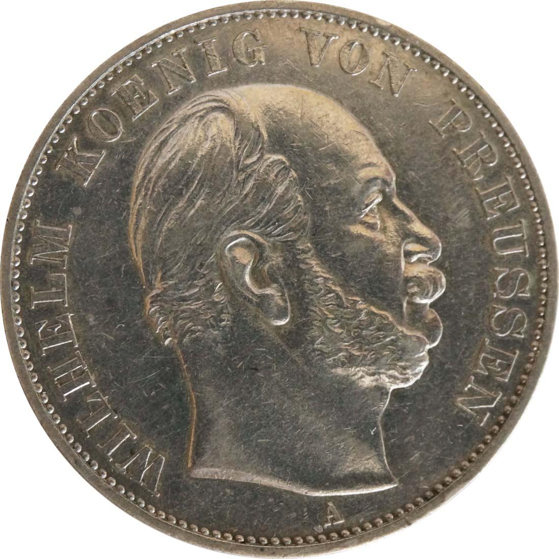 Rückseite:Deutschland : 1 Siegestaler   1871 vz+