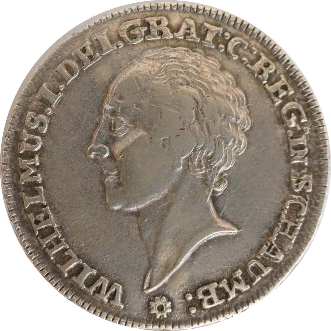 Vorderseite :Deutschland : 1 Dicktaler Friedr. Ernst 1748 - 77  1765 f.vz.