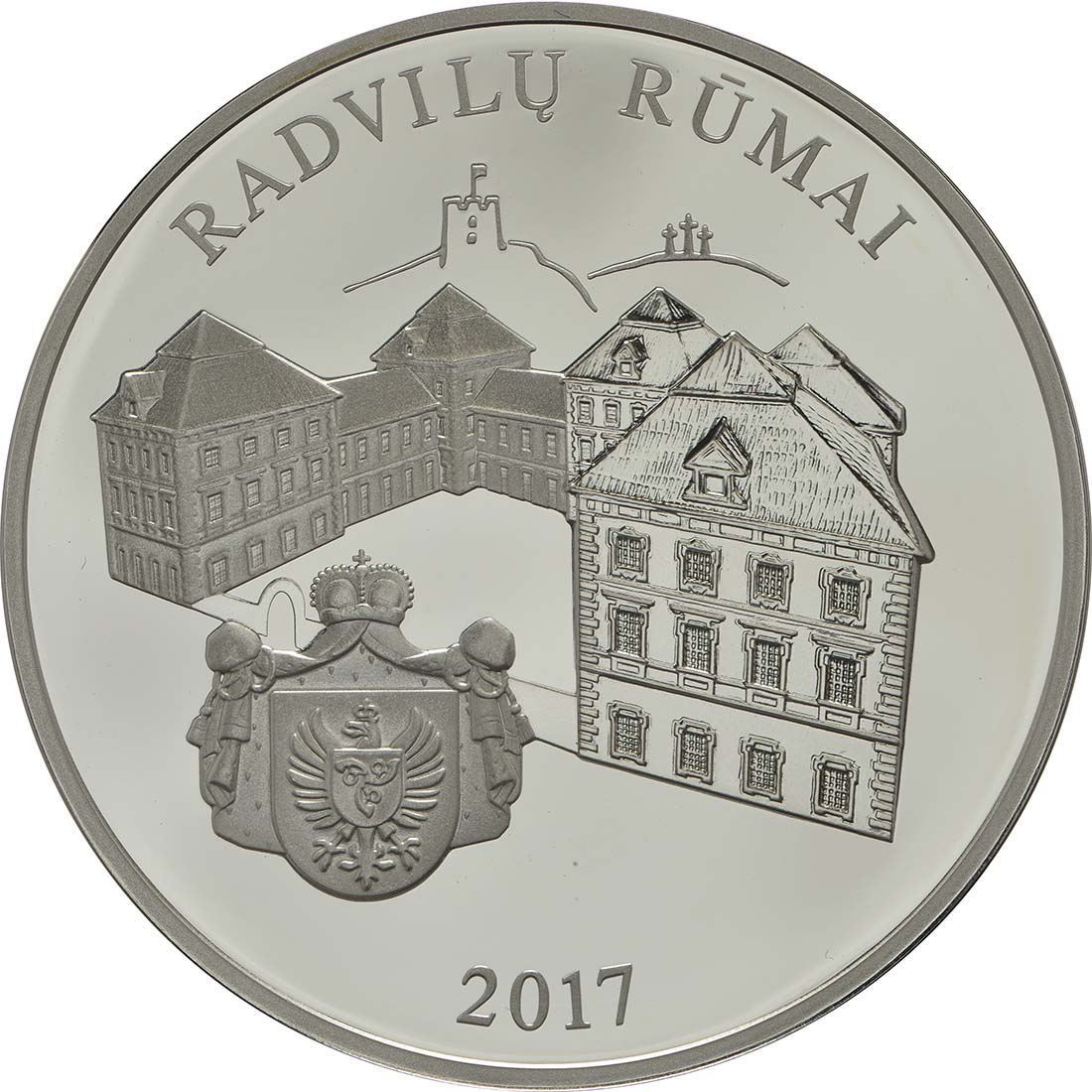 Vorderseite :Litauen : 20 Euro Radziwill  2017 PP