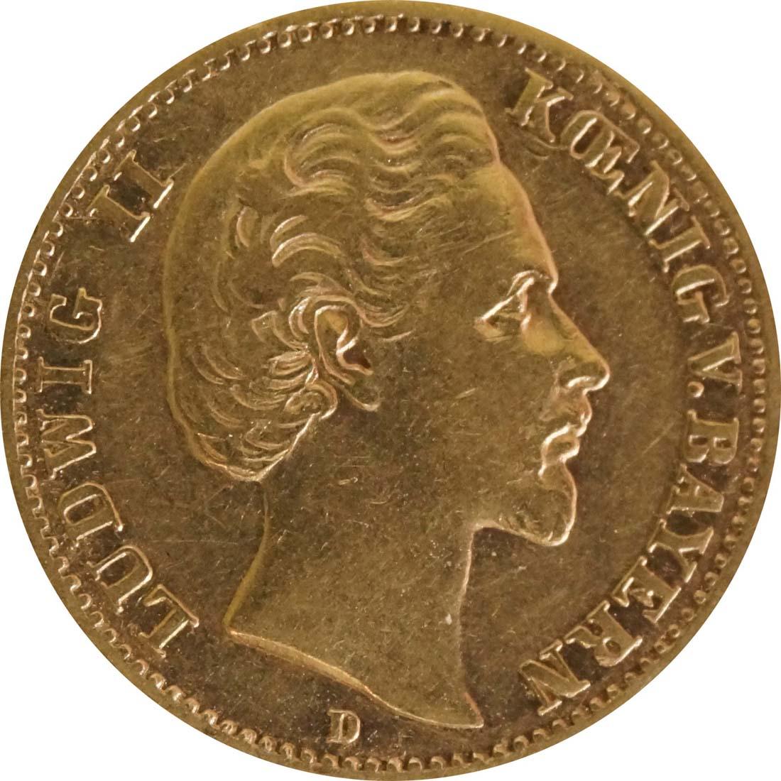 Vorderseite :Deutschland : 10 Mark   1879 ss.