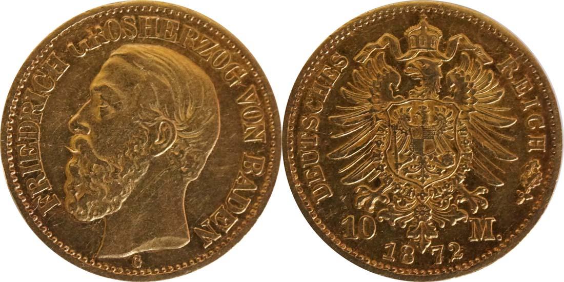 Übersicht:Deutschland : 10 Mark   1872 ss.