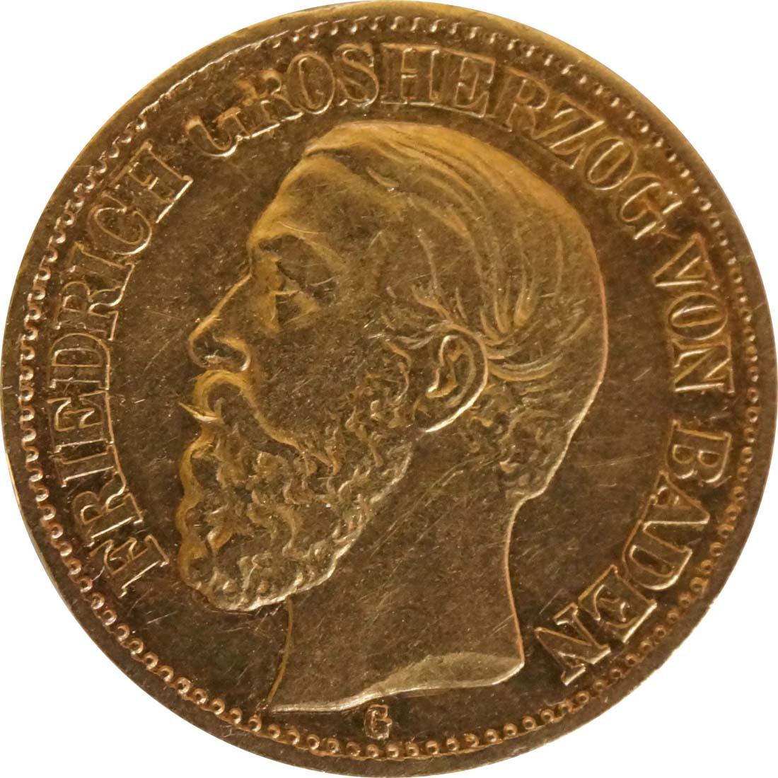 Vorderseite :Deutschland : 10 Mark   1872 ss.