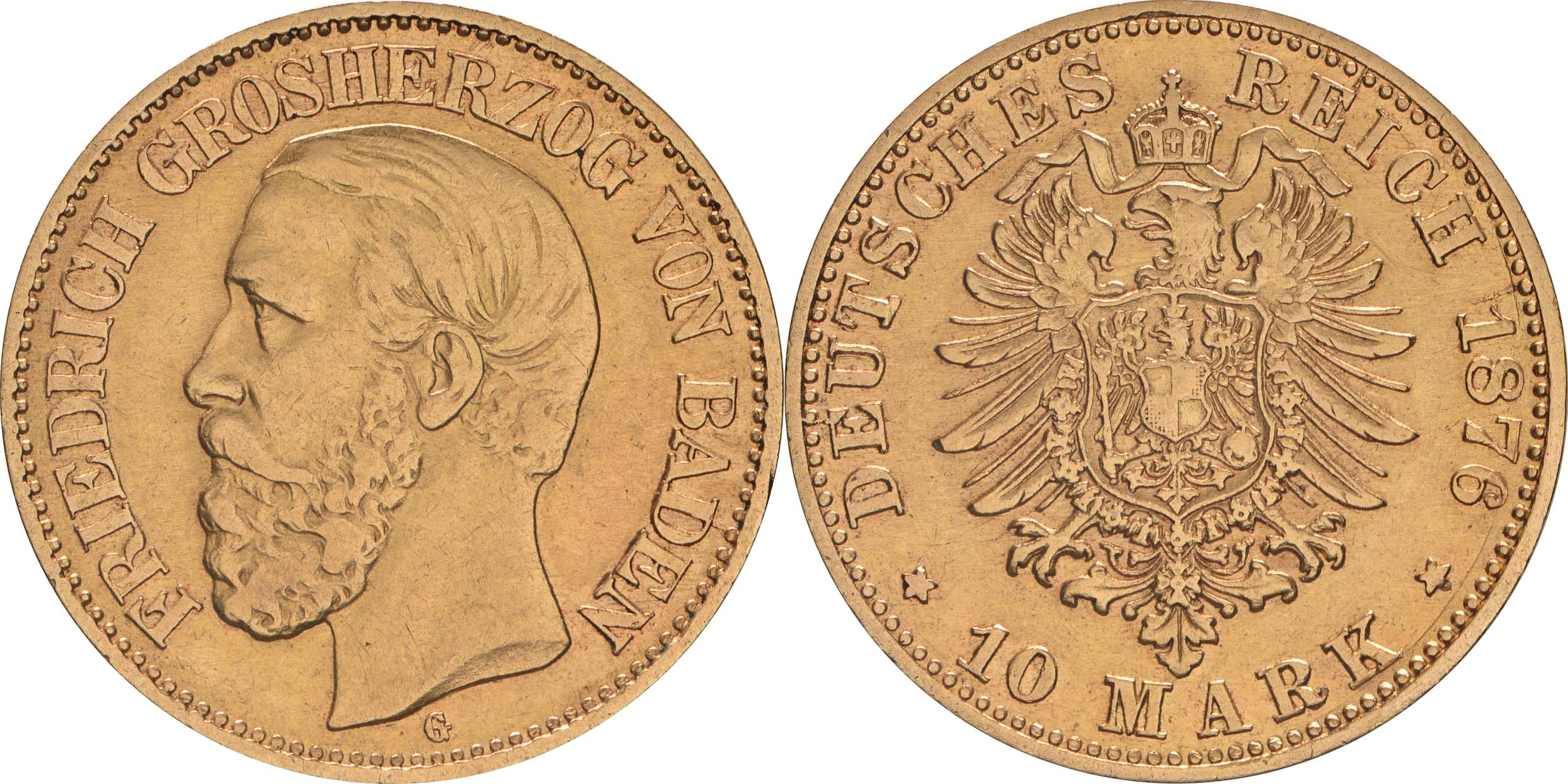 Übersicht:Deutschland : 10 Mark   1876 ss.