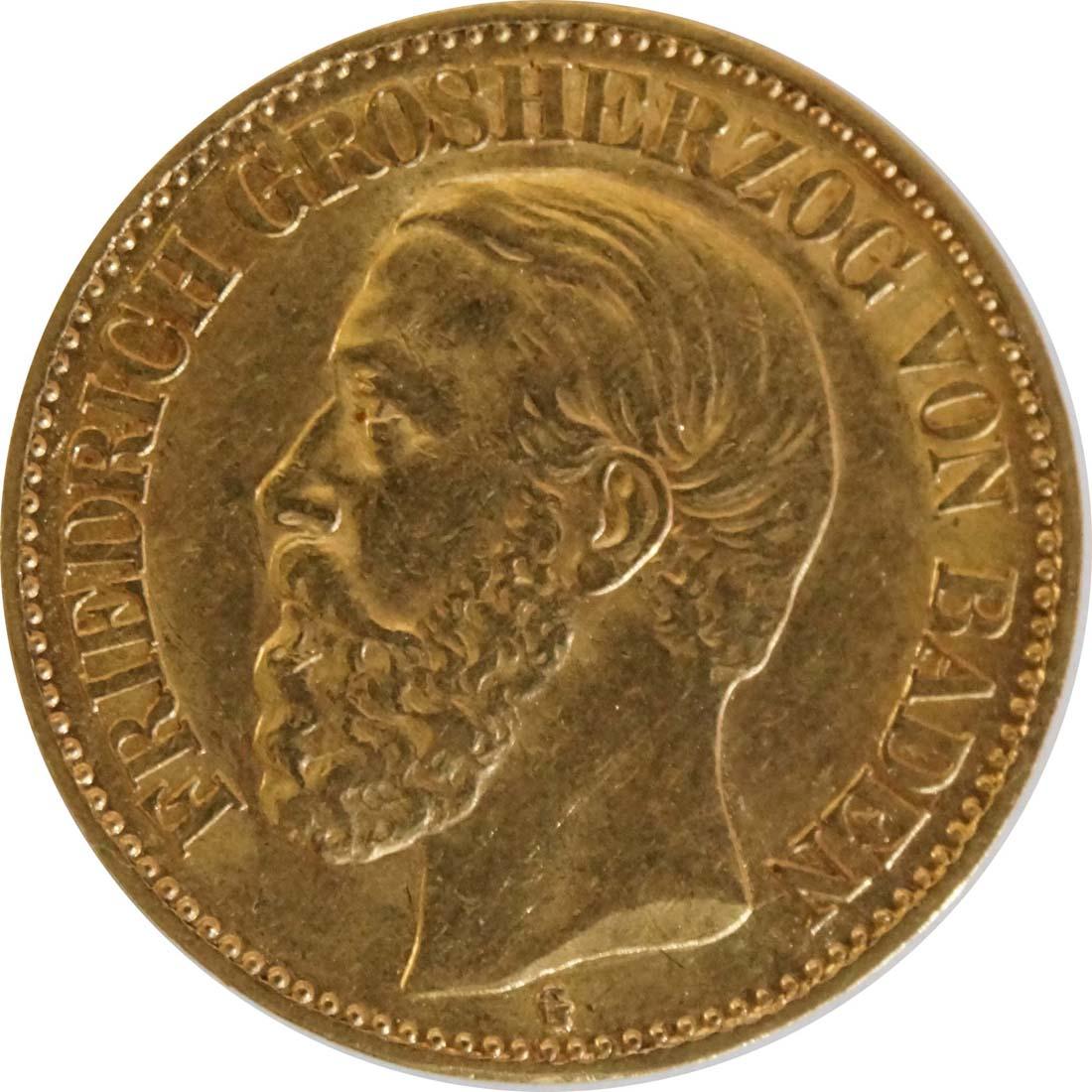 Vorderseite :Deutschland : 10 Mark   1890 ss/vz.