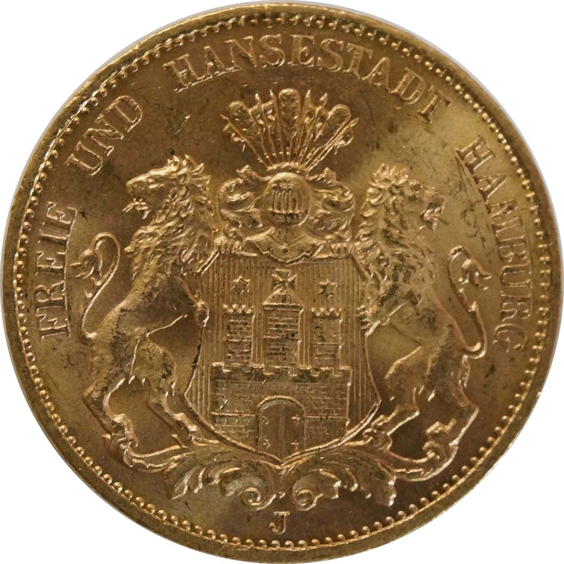 Vorderseite:Deutschland : 20 Mark   1913 vz.