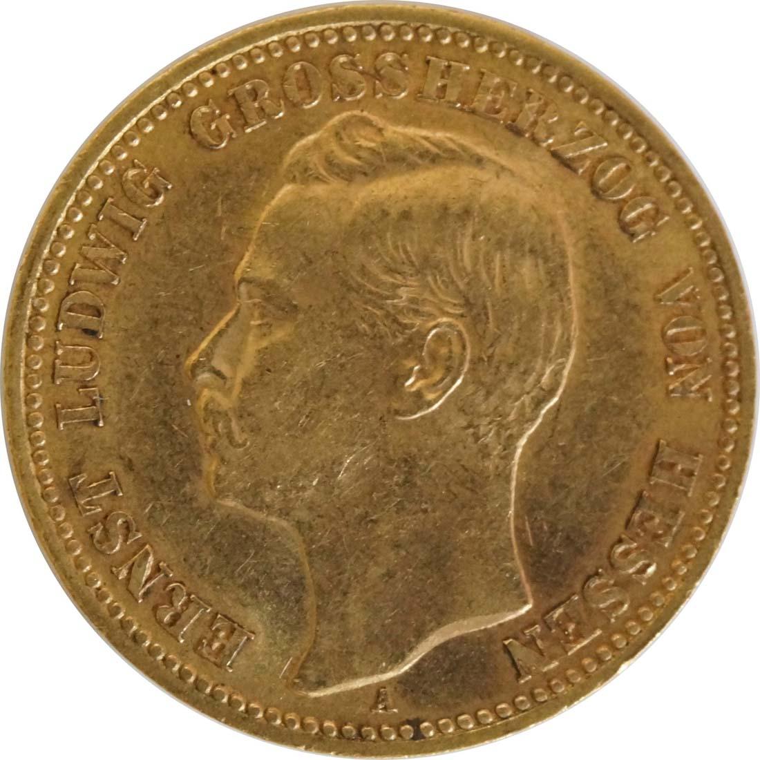Vorderseite :Deutschland : 20 Mark   1906 vz.