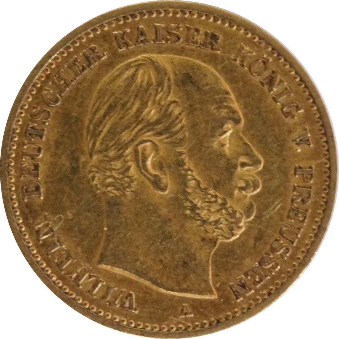 Vorderseite:Deutschland : 5 Mark   1877 ss.