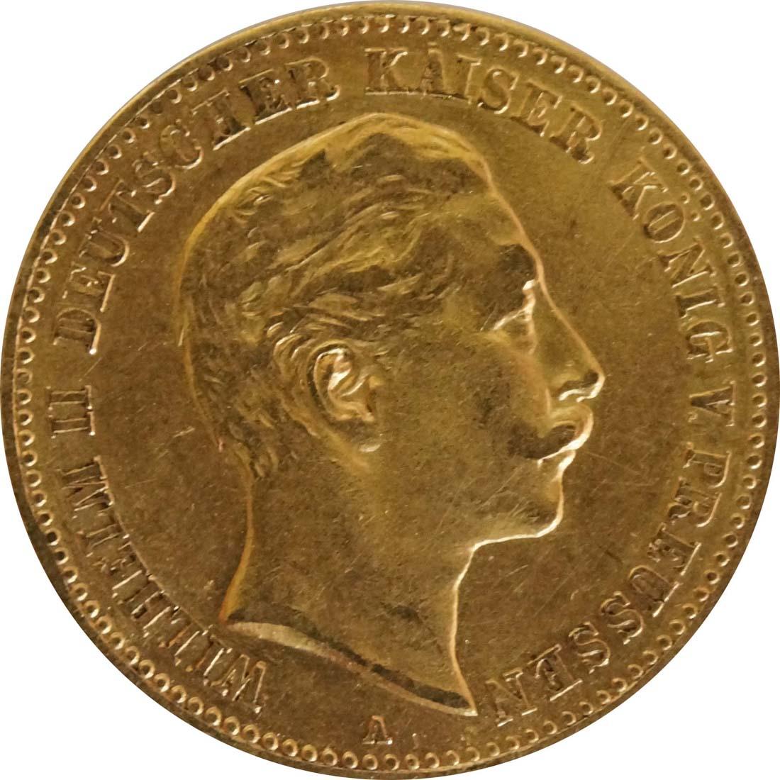 Vorderseite:Deutschland : 10 Mark   1899 ss.