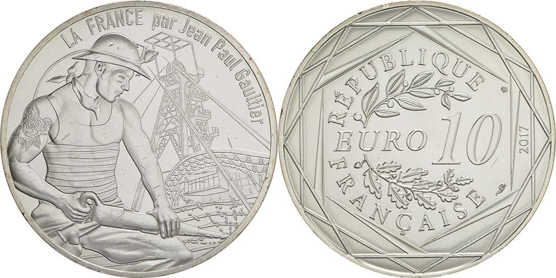 Lieferumfang:Frankreich : 10 Euro La Lorraine courageuse  2017 bfr