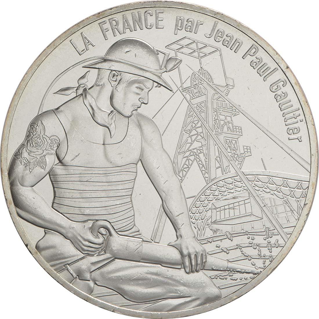 Vorderseite:Frankreich : 10 Euro La Lorraine courageuse  2017 bfr