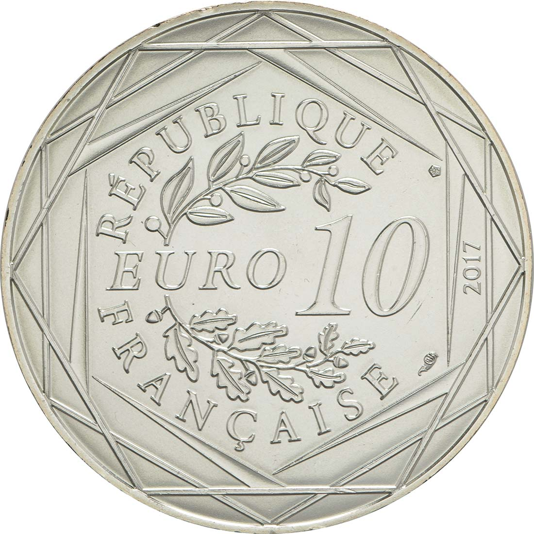 Rückseite:Frankreich : 10 Euro La Bretagne Breizh  2017 bfr