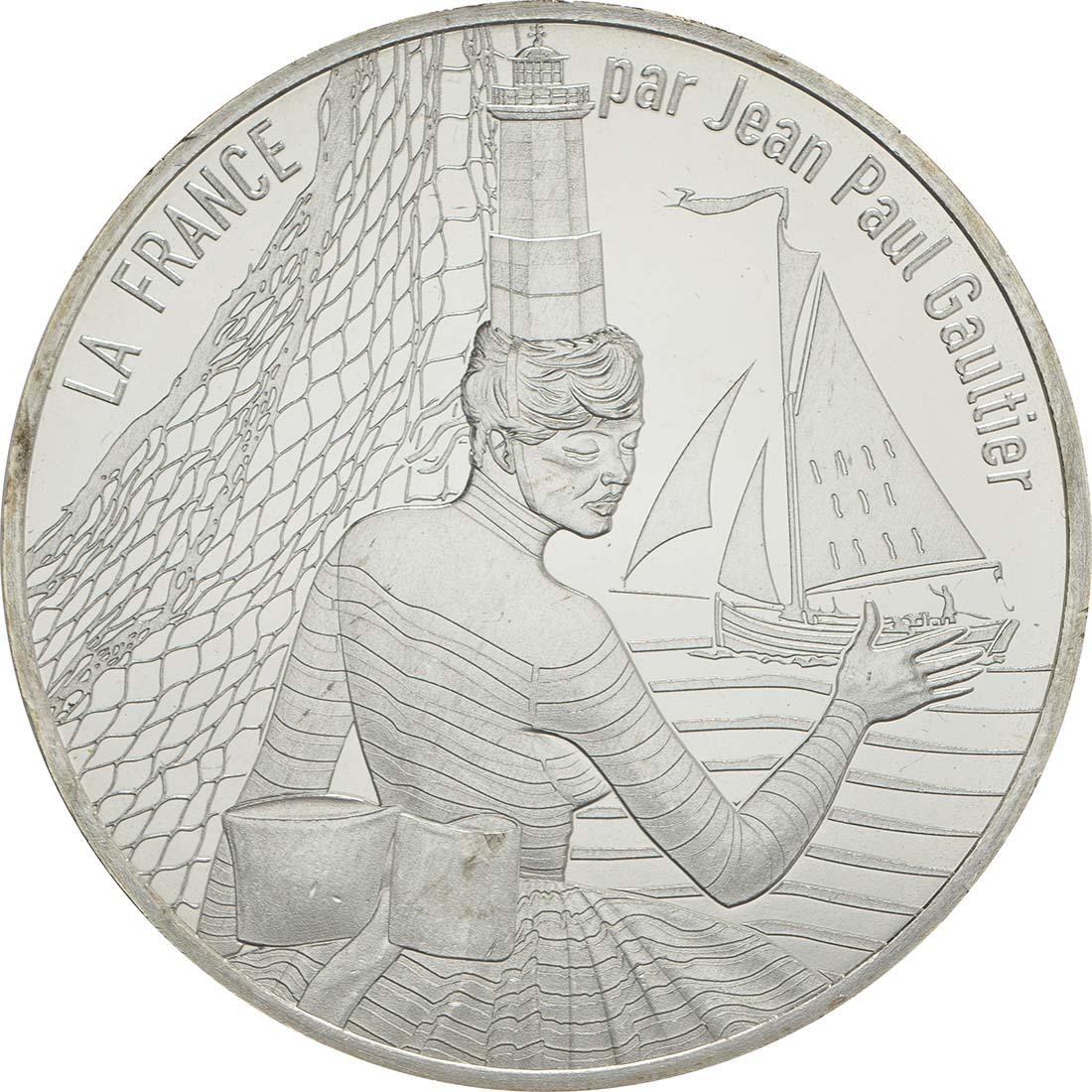 Vorderseite:Frankreich : 10 Euro La Bretagne Breizh  2017 bfr