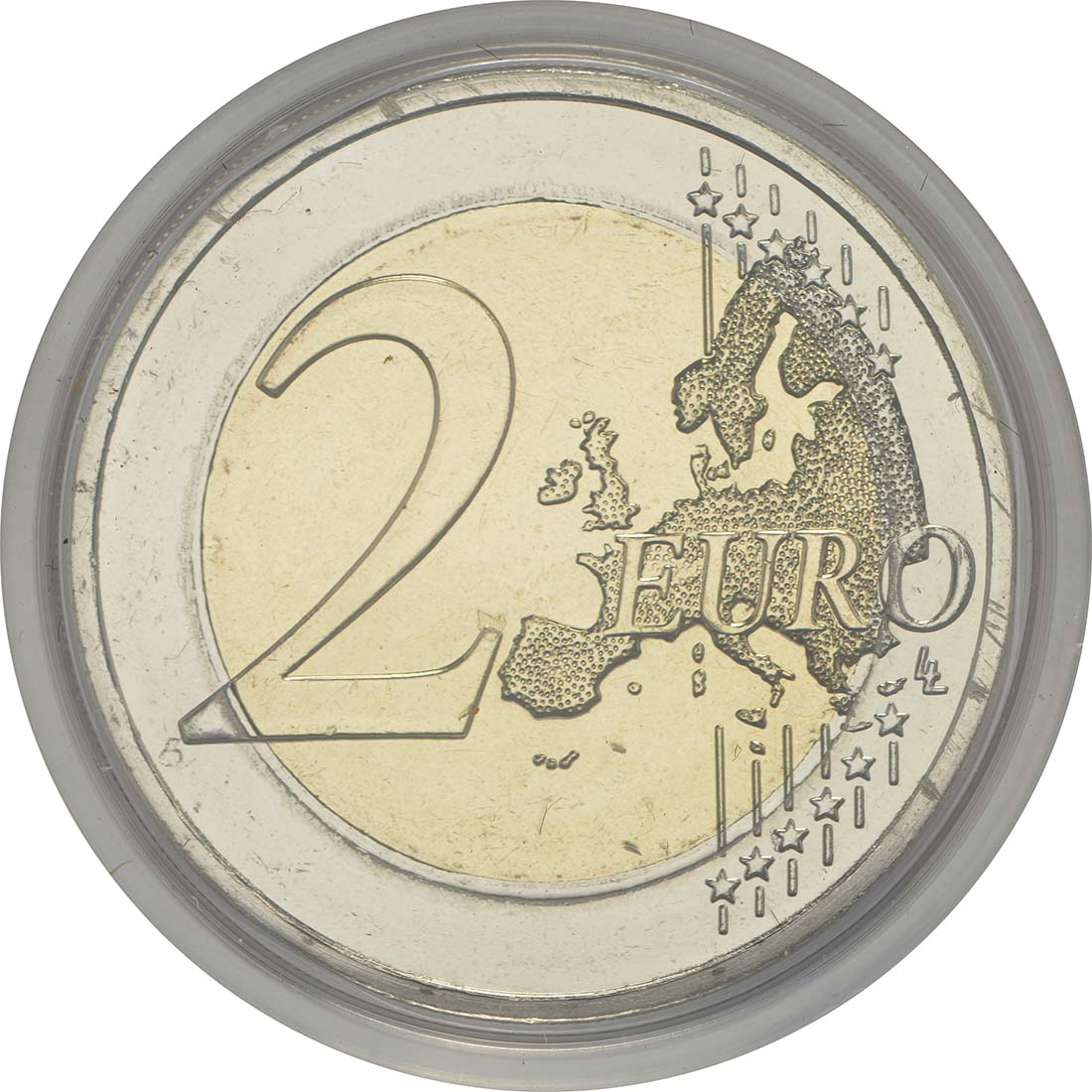 Vorderseite:Zypern : 2 Euro Kulturhauptstadt Paphos  2017 Stgl.