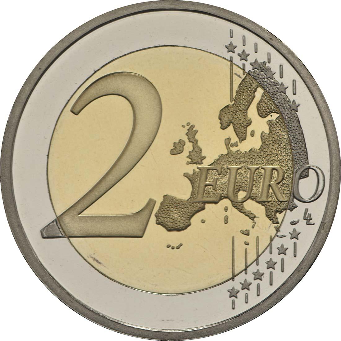 Vorderseite:Zypern : 2 Euro Kulturhauptstadt Paphos  2017 PP