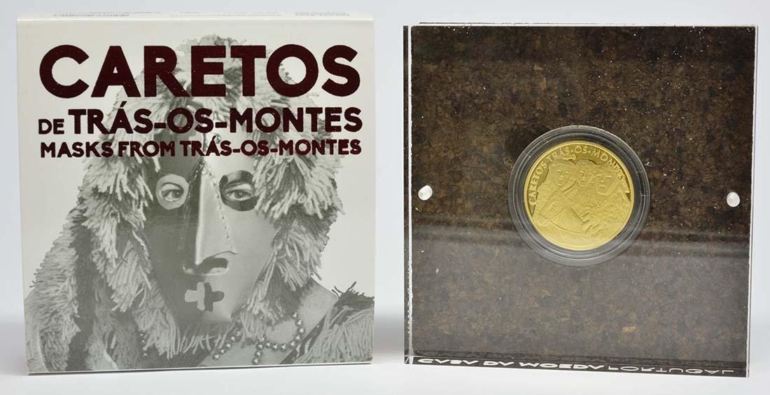 Lieferumfang:Portugal : 2,5 Euro Masken von Tras-Os-Montes  2017 PP