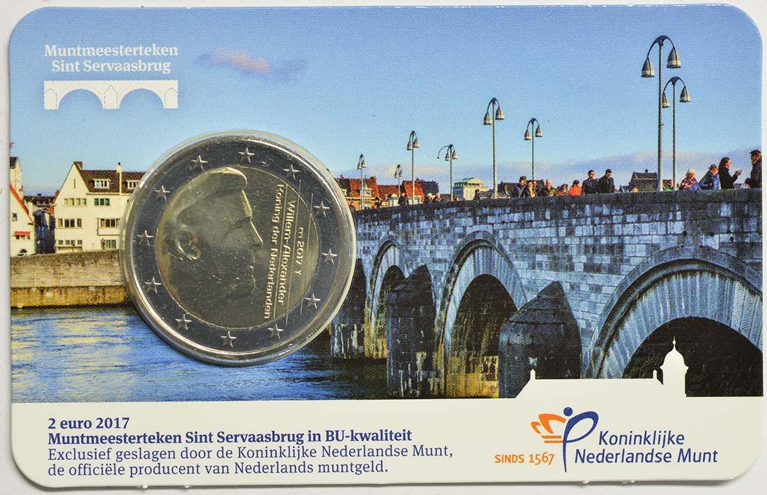 Lieferumfang:Niederlande : 2 Euro neuer Münzmeister - Kuni  2017 Stgl.