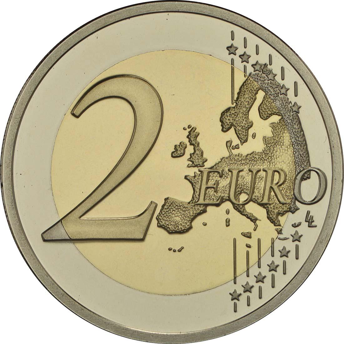 Vorderseite:Niederlande : 2 Euro neuer Münzmeister - Kuni  2017 PP