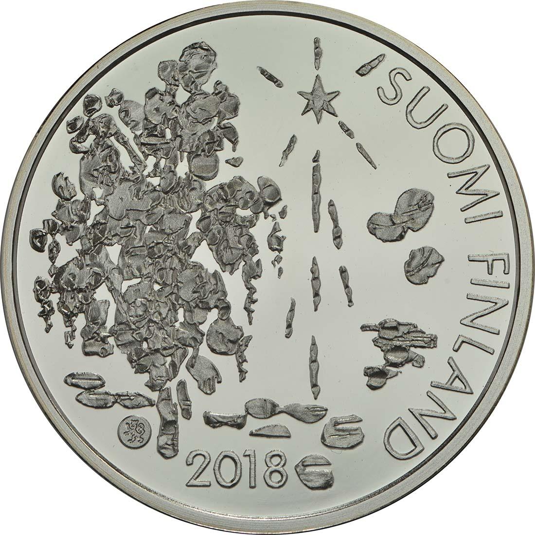 Vorderseite:Finnland : 10 Euro 200. Geburtstag Zacharias Topelius  2018 PP