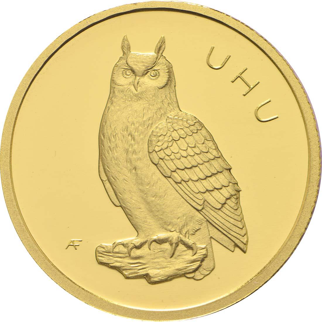 Vorderseite:Deutschland : 20 Euro Uhu Buchstabe unserer Wahl  2018 Stgl.