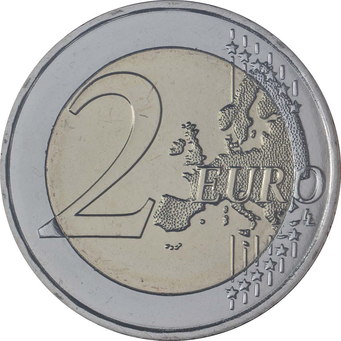 Vorderseite:Malta : 2 Euro Kulturelles Erbe  2018 Stgl.