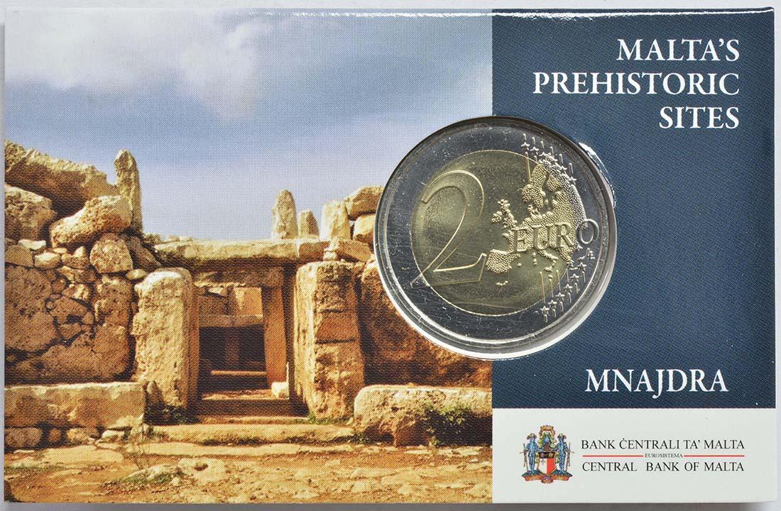 Lieferumfang:Malta : 2 Euro Mnajdra  2018 Stgl.