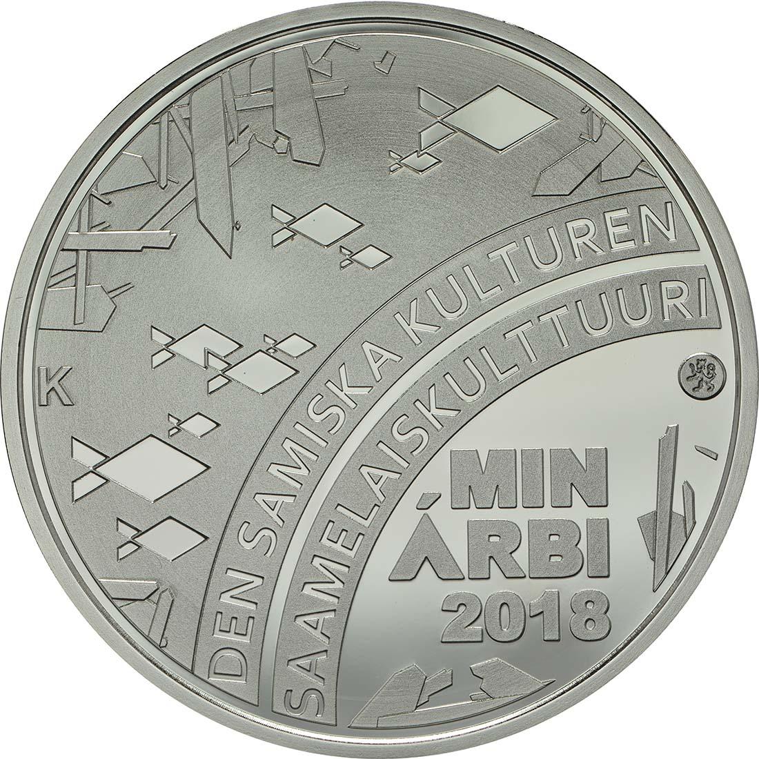 Vorderseite:Finnland : 20 Euro Samische Kultur  2018 PP