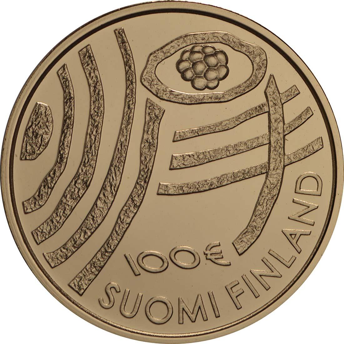 Vorderseite:Finnland : 100 Euro 100 Jahre Finnland  2018 PP