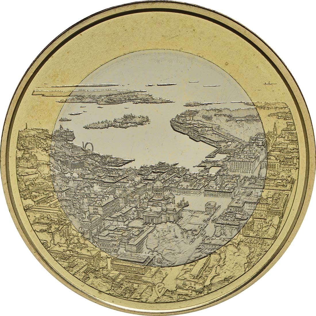 Vorderseite :Finnland : 5 Euro Maritimes Helsinki  2018 PP