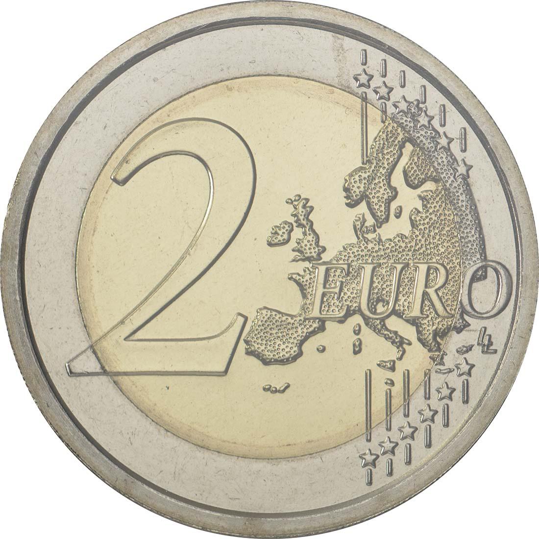 Vorderseite:San Marino : 2 Euro 500. Jahrestag der Geburt von Tintoretto  2018 Stgl.