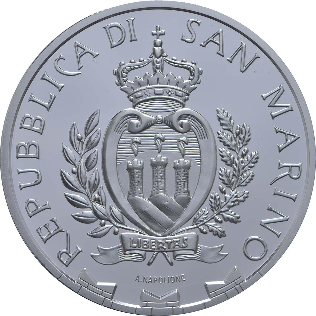 Rückseite:San Marino : 10 Euro Europäisches Jahr des Kulturerbes  2018 PP