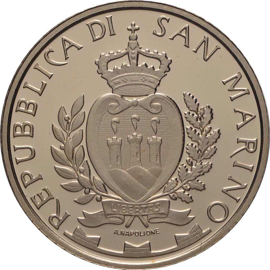 Rückseite:San Marino : 20 Euro Monte Titano   2018 PP