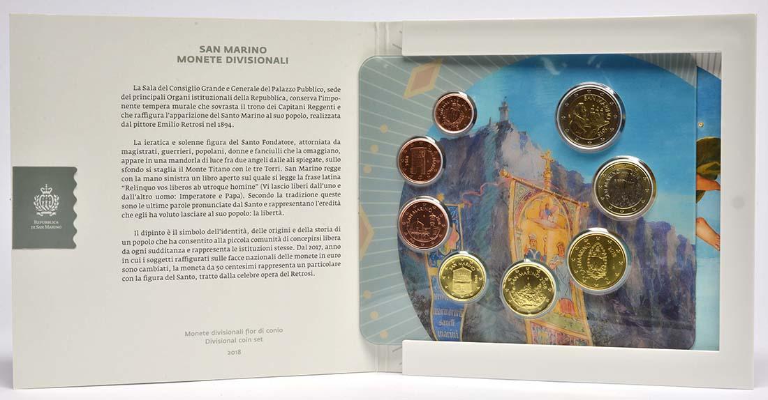 San Marino : 3,88 Euro KMS San Marino  2018 bfr