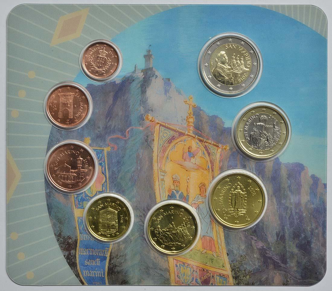 Vorderseite :San Marino : 3,88 Euro KMS San Marino  2018 bfr