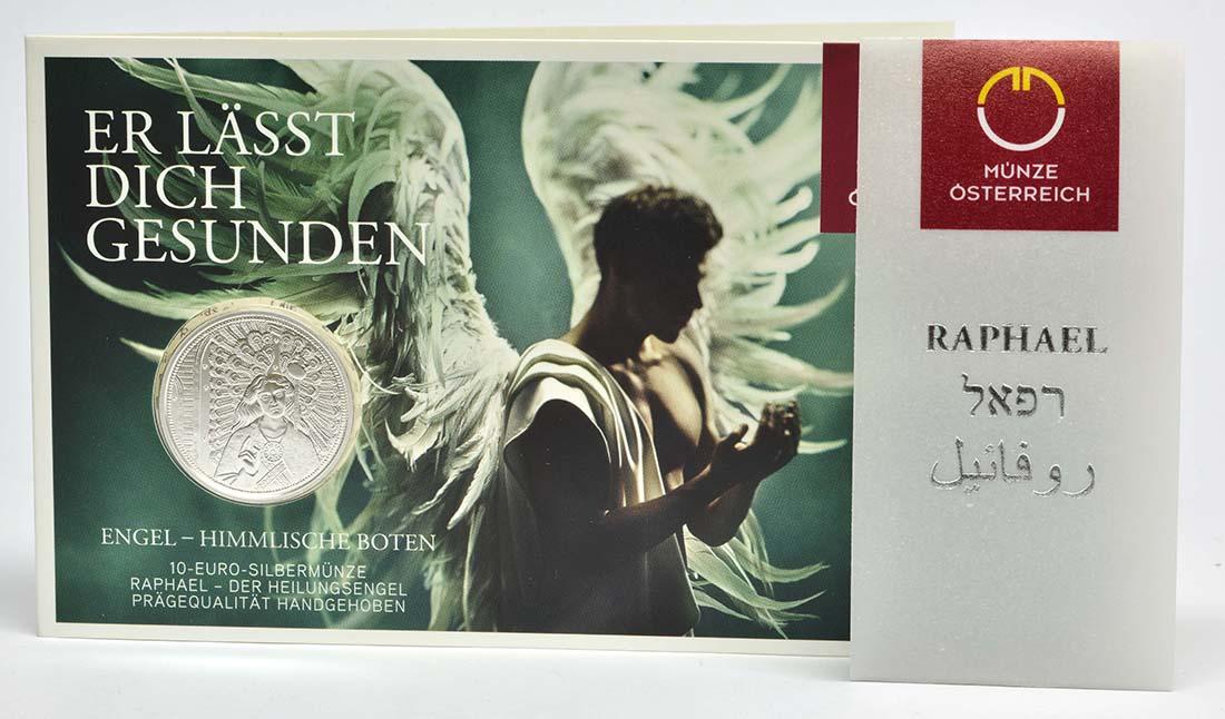 Österreich : 10 Euro Raphael - der Heilungsengel  2018 Stgl.
