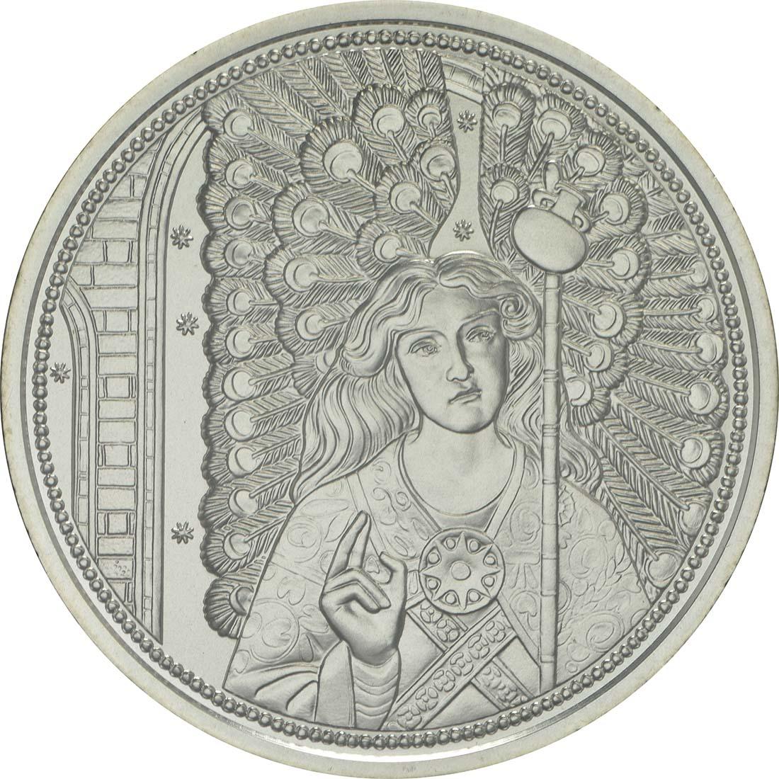 Vorderseite :Österreich : 10 Euro Raphael - der Heilungsengel  2018 Stgl.