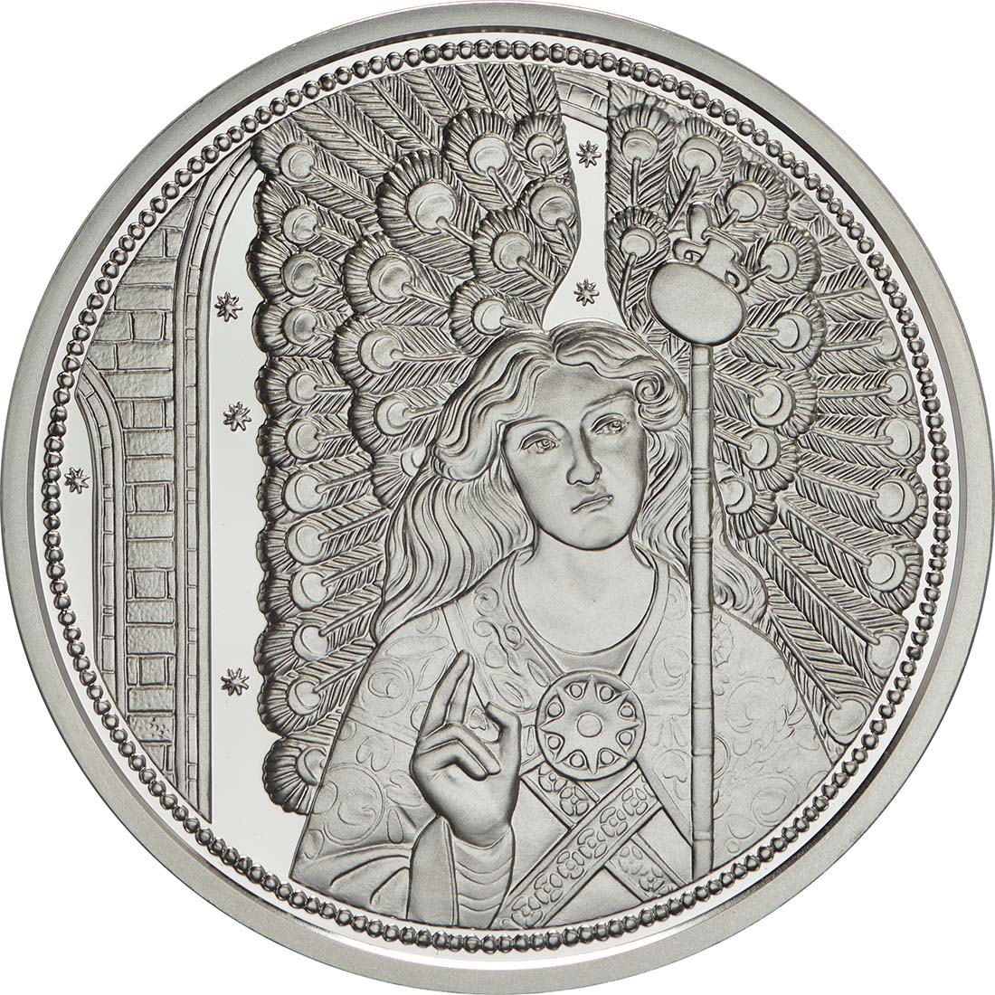 Vorderseite:Österreich : 10 Euro Raphael - der Heilungsengel  2018 PP